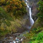称名滝(富山県)紅葉情報‐2016年10月24日