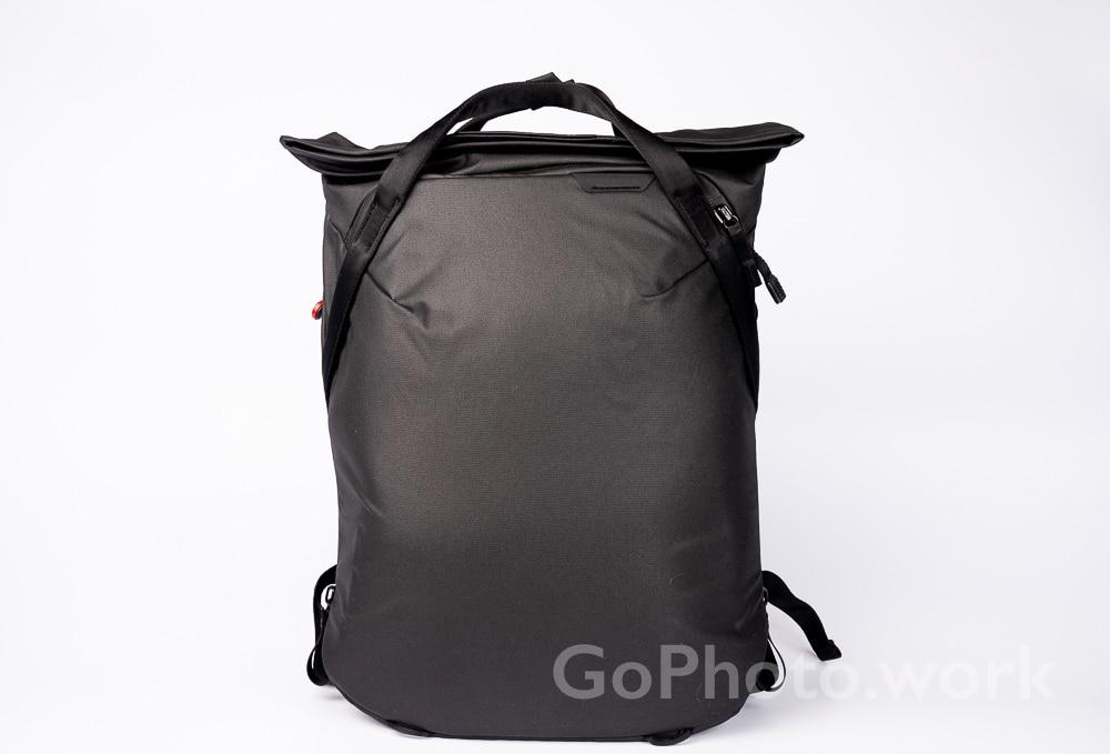 peakdesign everyday totepack レビュー 3wayバッグに改造