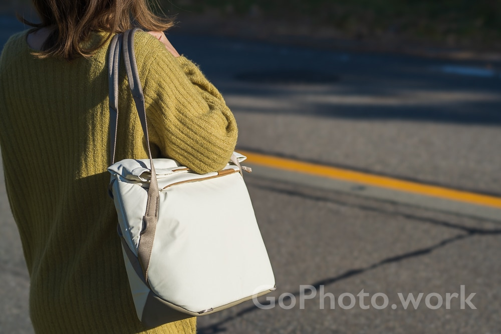 peakdesign everyday tote v2 レビュー